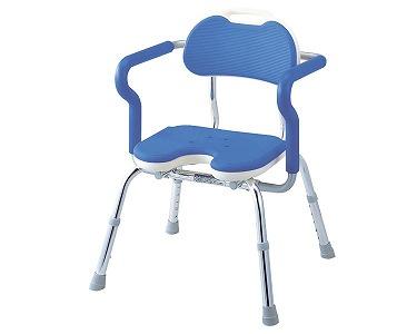 介護 椅子 ひじ掛け付きシャワーベンチ RE-U (U型) 安寿 介護用品 風呂椅子【介護用品】【風呂いす】【smtb-kd】