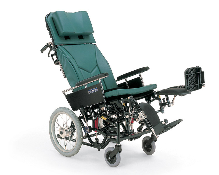 ティルティング&リクライニング車椅子KX16-42EL カワムラサイクル 【ティルティング車椅子】【smtb-kd】【介護用品】