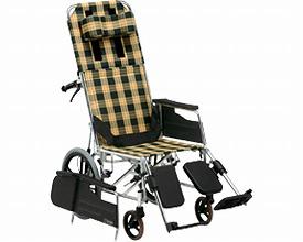 アルミ製リクライニング車椅子 介助式 MW-14 松永製作所介護用品 車いす 車イス リクライニング 高齢者 福祉用具