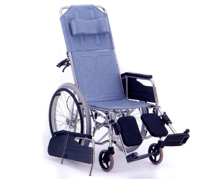 リクライニング車椅子 自走式 CM-52(背・足・連動) 松永製作所 【smtb-kd】【介護用品】