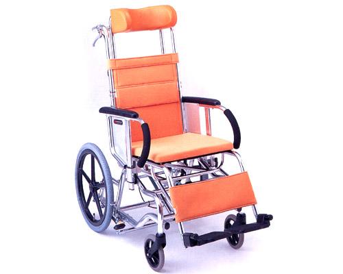 マイチルト車椅子 介助式 MH-3 ティルトタイプ 松永製作所 【smtb-kd】【介護用品】