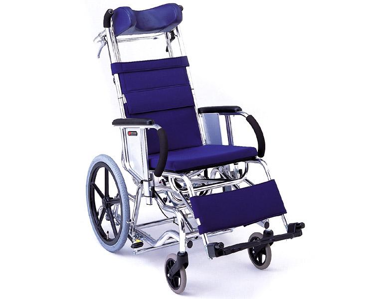 マイチルト車椅子 介助式 MH-1R ティルト&リクライニングタイプ(転倒防止パイプ付) 松永製作所 【smtb-kd】【介護用品】