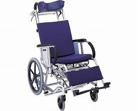 マイチルト車椅子 介助式 MH-3R ティルト&リクライニングタイプ(転倒防止パイプ付) 松永製作所送料無料 車いす リクライニング 介助用車椅子 介護用品 福祉用具