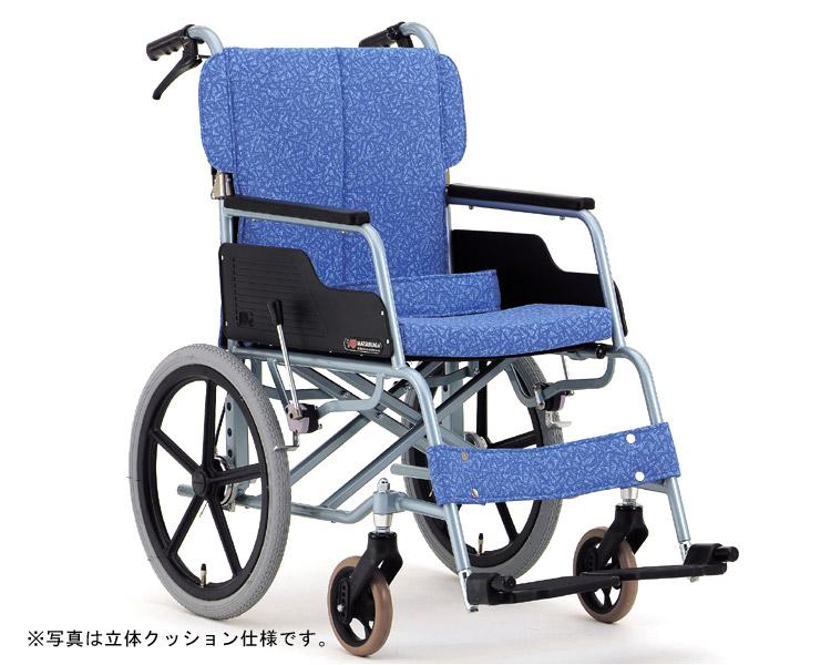 アルミ介助式車椅子 基本タイプ REM-2 松永製作所 【smtb-kd】【介護用品】