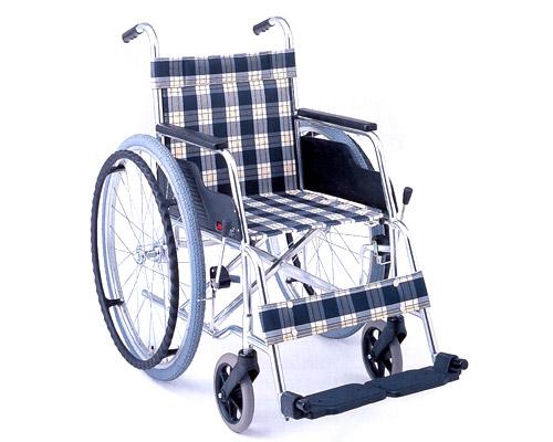 アルミ自走式車椅子 基本タイプ MW-1 (背固定) 松永製作所 【smtb-kd】【介護用品】