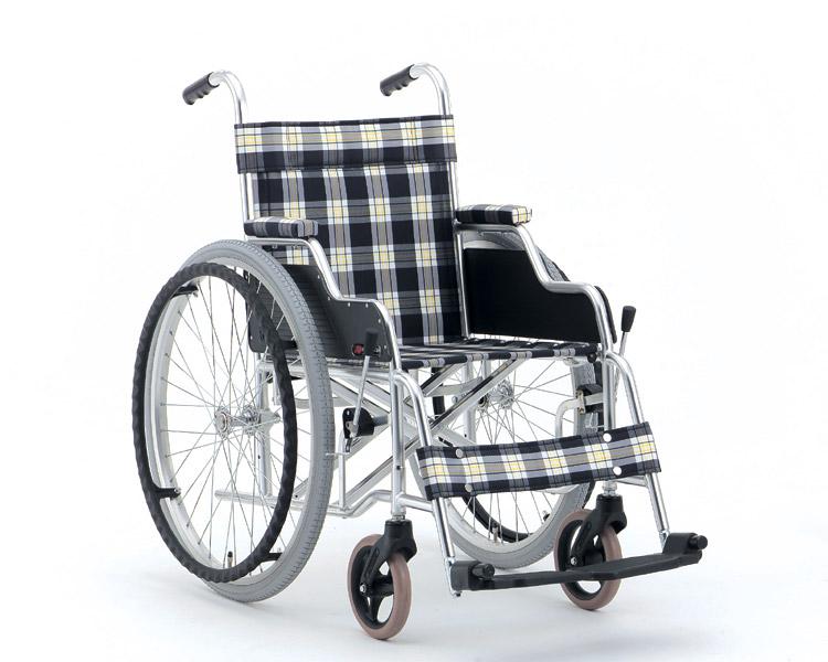 アルミ自走式車椅子 デスクタイプ MW-1D (背固定) 松永製作所 【smtb-kd】【介護用品】【自走用車椅子】【車いす 車イス】