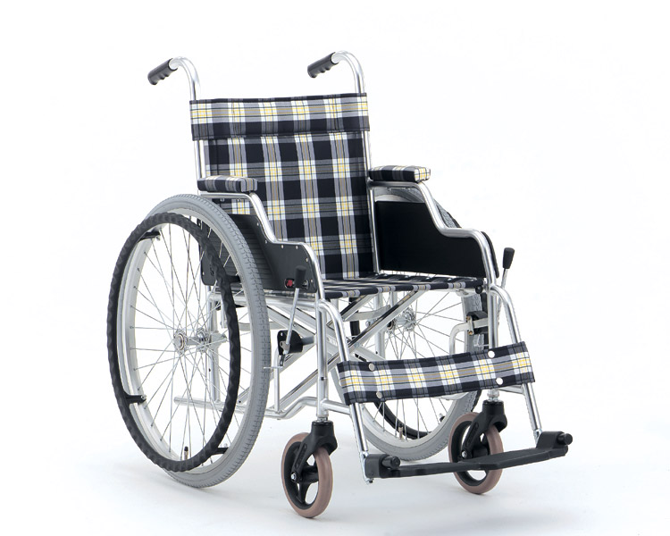 アルミ自走式車椅子 デスクタイプ MW-2D (背固定) 松永製作所 【smtb-kd】【介護用品】