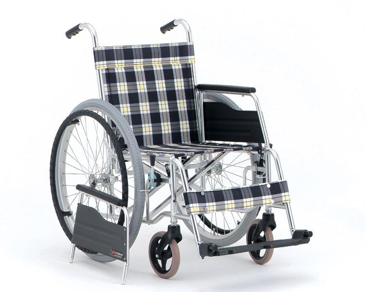 アルミ自走式車椅子 肘着脱タイプ MW-8 (背固定) 松永製作所 【smtb-kd】【介護用品】
