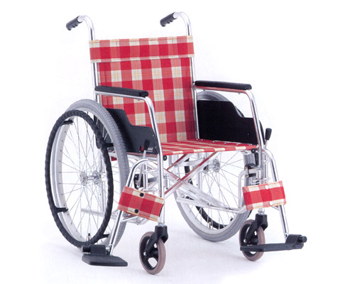 アルミ自走式車椅子 スイングアウトタイプ MW-27 (背固定) 松永製作所 【smtb-kd】【介護用品】