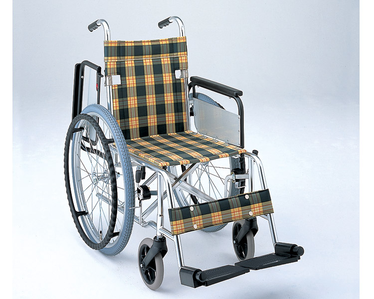 アルミ自走式車椅子 肘跳ね上げタイプ MW-31F (背折りたたみ) 松永製作所 【smtb-kd】【介護用品】