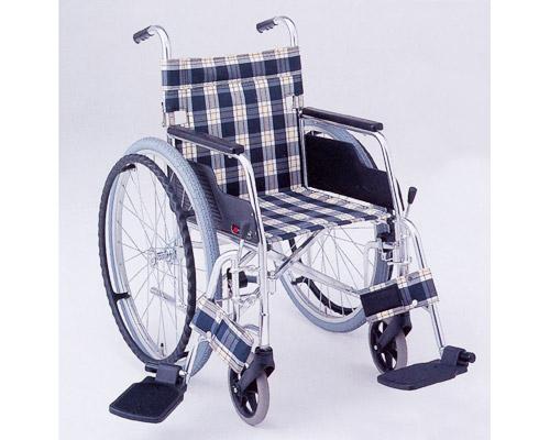 アルミ自走式車椅子 スイングアウトタイプ MW-10F (背折りたたみ) 松永製作所 【smtb-kd】【介護用品】