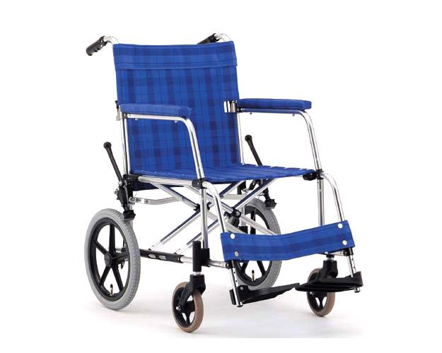 アルミ介助式車椅子 基本タイプ MA-126 (優介くん) 松永製作所 【smtb-kd】【介護用品】