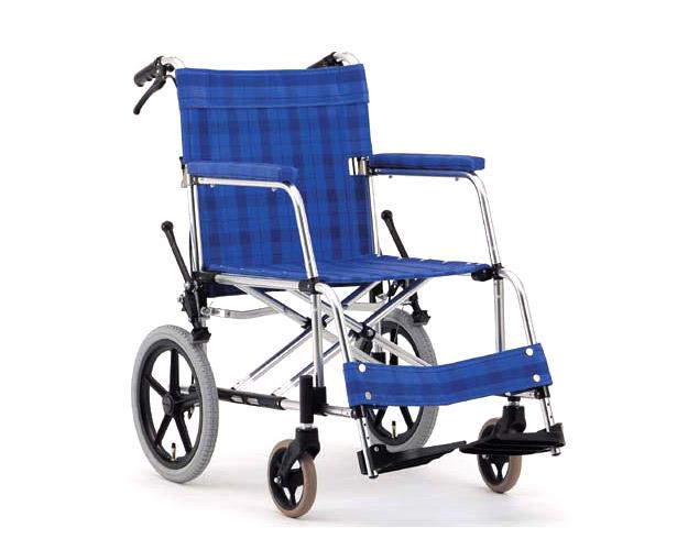 アルミ介助式車椅子 基本タイプ MA-126DX (優介くん) 松永製作所 【smtb-kd】【介護用品】