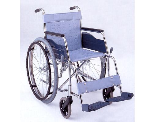 スチール自走式車椅子 基本タイプ CM-13 松永製作所 【smtb-kd】【介護用品】