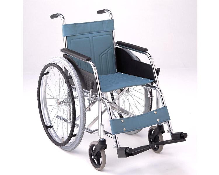 車椅子 スチール自走式車椅子 DM-81(DM-80の後継です。) (背固定) 松永製作所介護用品 車椅子 車イス 車いす