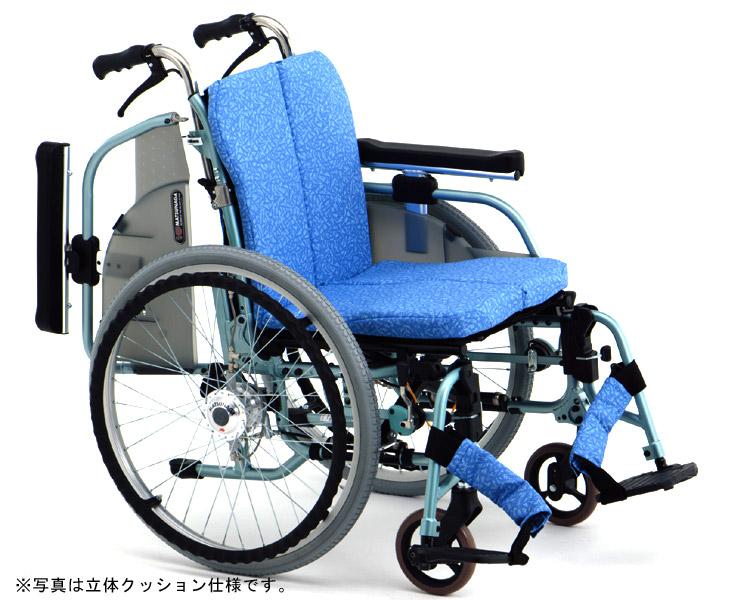 アルミ自走式車椅子 エアハブ付モデル REM-1000 AH 松永製作所 【smtb-kd】【介護用品】