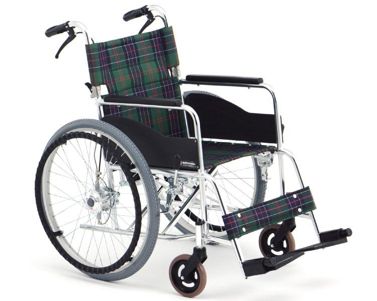 アルミ自走式車椅子 エアハブ付モデル AR-201B AH (AR-200B AHの後継商品です) 松永製作所 【smtb-kd】【介護用品】