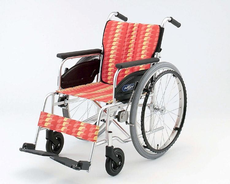 アルミ自走式車椅子 NA-406A 低床型 日進医療器 【smtb-kd】【介護用品】