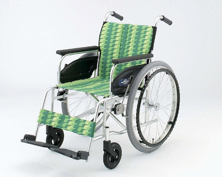 アルミ自走式車椅子 NA-426AS 日進医療器 【smtb-kd】【介護用品】