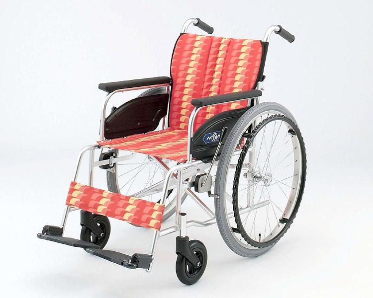 アルミ自走式車椅子 NA-426A 日進医療器 【smtb-kd】【介護用品】