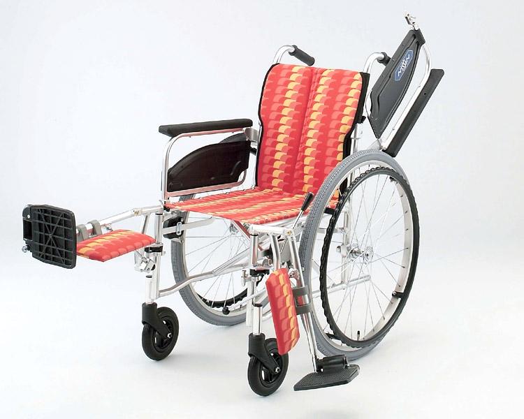 アルミ自走式車椅子 NA-466T エレベーティング 日進医療器 【smtb-kd】【介護用品】
