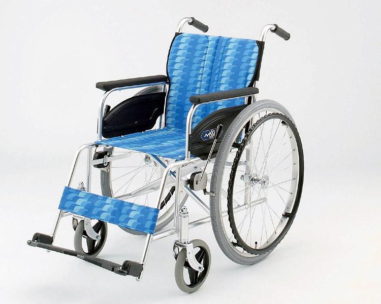アルミ自走式車椅子 NA-467AS 日進医療器 【smtb-kd】【介護用品】