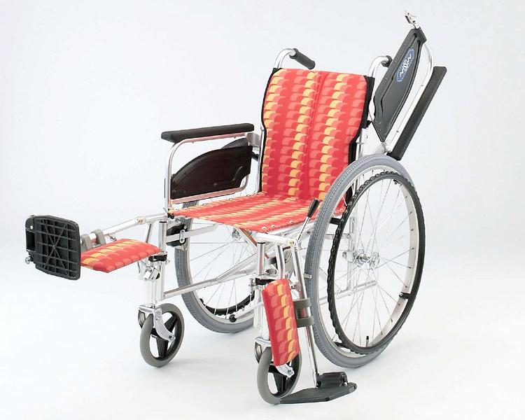 アルミ自走式車椅子 NA-467T エレベーティング 日進医療器 【smtb-kd】【介護用品】