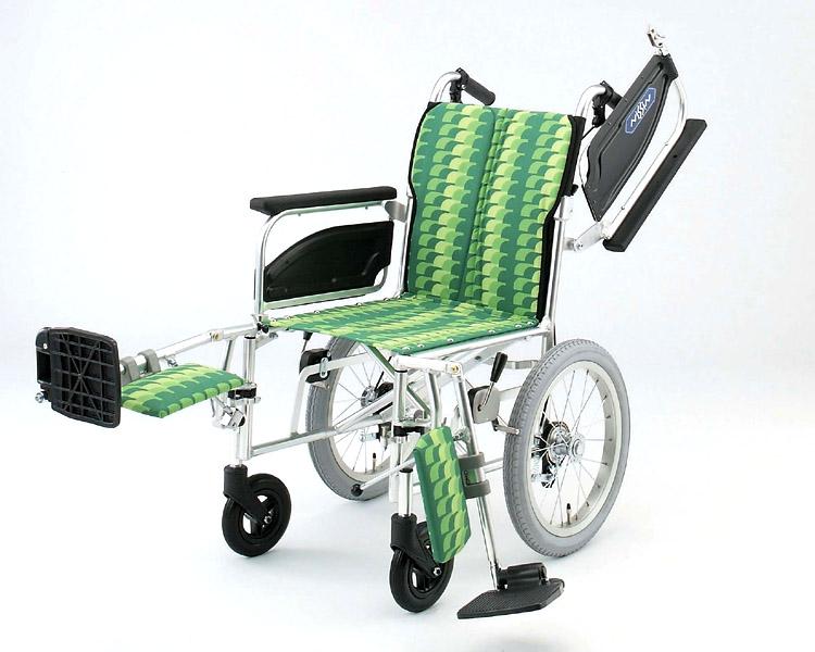 アルミ介助式車椅子 NAH-446T エレベーティング 日進医療器 【smtb-kd】【介護用品】