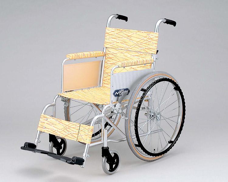 アルミ軽量自走式車椅子 NA-L1 日進医療器 【smtb-kd】【介護用品】