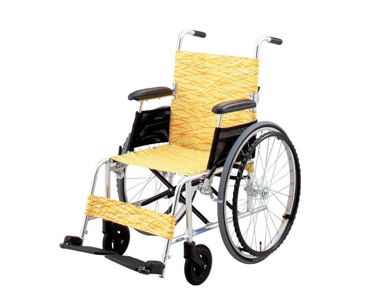 ●アルミ軽量自走式車椅子 NA-L8 軽8カルハチ 日進医療器車椅子 自走型 車いす 車イス くるまいす 高齢者 介護用品 福祉用具