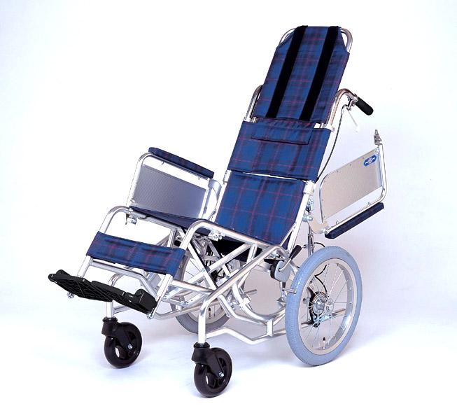 アルミ介助式車椅子 NAH-F1 レール式振り子スウィング 日進医療器 【smtb-kd】【介護用品】