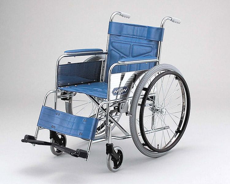 スチール自走式車椅子 ND-12AM 中床型 日進医療器 【smtb-kd】【介護用品】