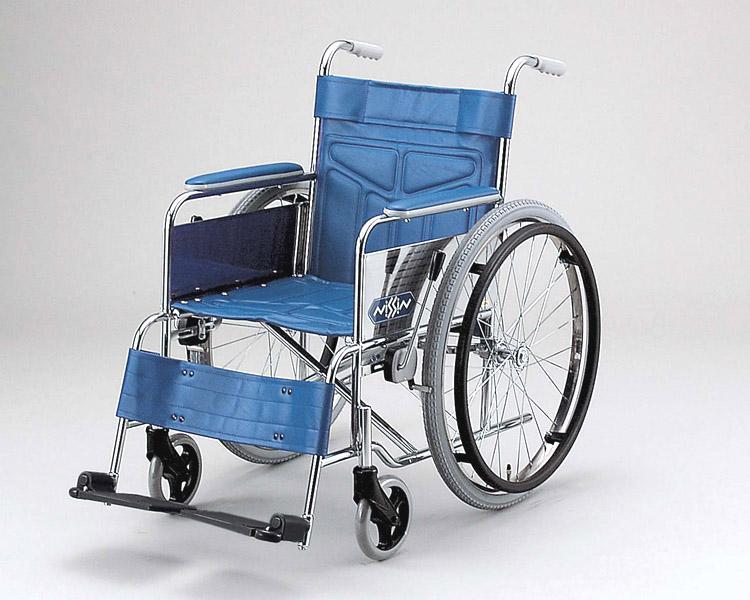 スチール自走式車椅子 ND-12AL 低床型 日進医療器 【smtb-kd】【介護用品】