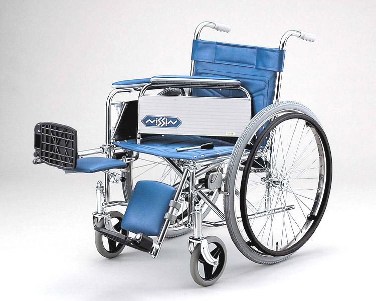 スチール自走式車椅子 ND-14 エレベーティング型 日進医療器 【smtb-kd】【介護用品】