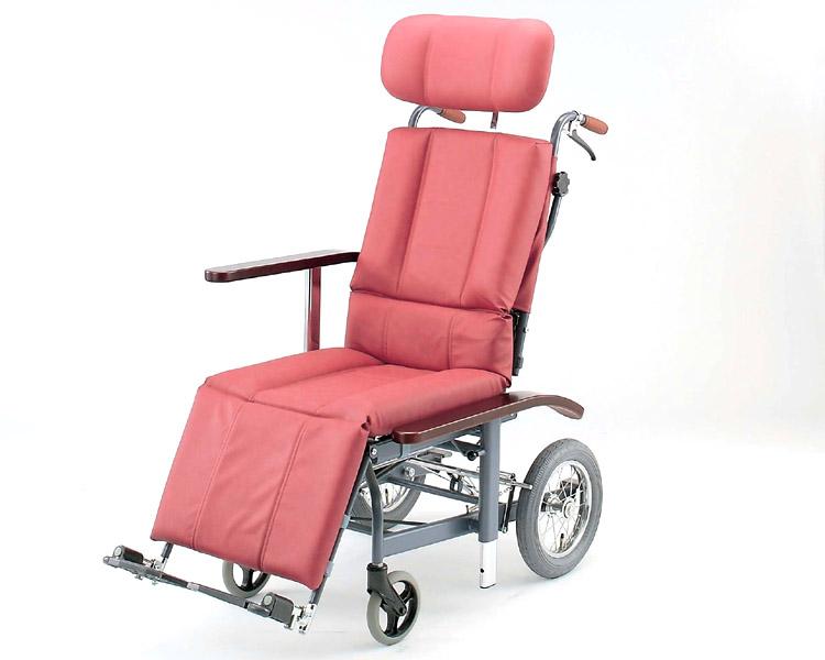 フルリクライニング車椅子 NHR-12 日進医療器 【smtb-kd】【介護用品】【車いす】【車イス】【介護タクシー】