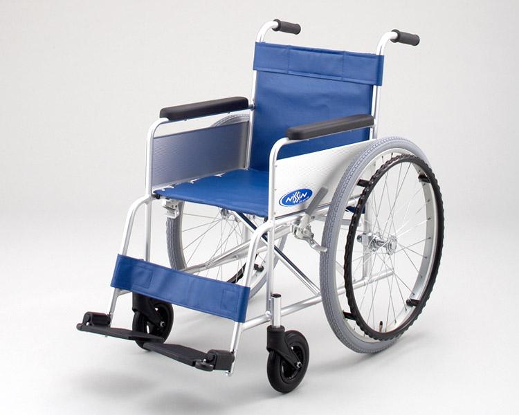 アルミ自走式車椅子 NA-101E (背固定) 日進医療器 【smtb-kd】【介護用品】