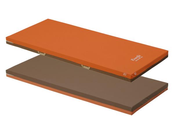 エバーフィットマットレス 清拭タイプ 83cm幅 KE-523Q レギュラー パラマウントベッド 【介護用品】【介護用ベッド】
