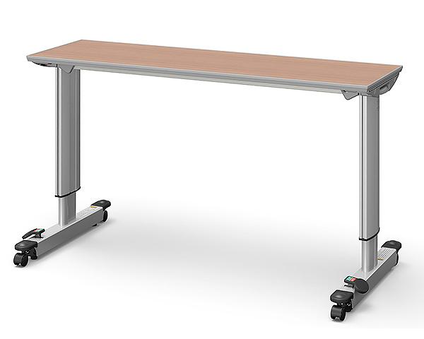 オーバーベッドテーブル KF-833LB ロック機構付き パラマウントベッド 【介護用品】