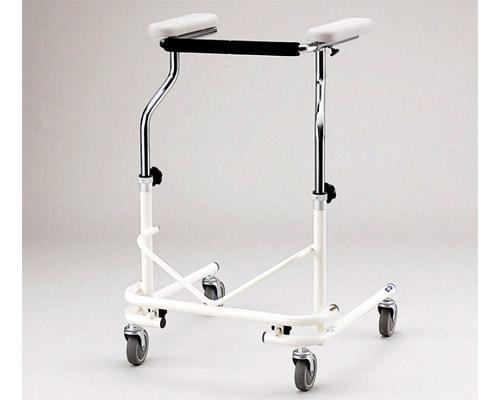折りたたみ式歩行器 NW-21B(四輪自在) 日進医療器 【smtb-kd】【歩行器】【折りたたみ歩行器】【介護用品 歩行器】【歩行補助】【介護用品】