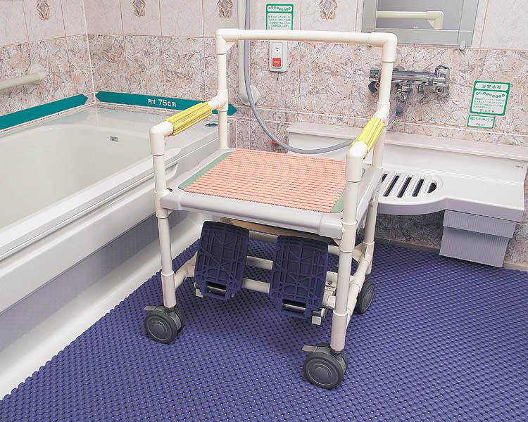 浴室マット バイオクッション 2m×2m 学研 滑り止めマット 介護用品 風呂 バス用品 お風呂 マット お風呂 滑り止め