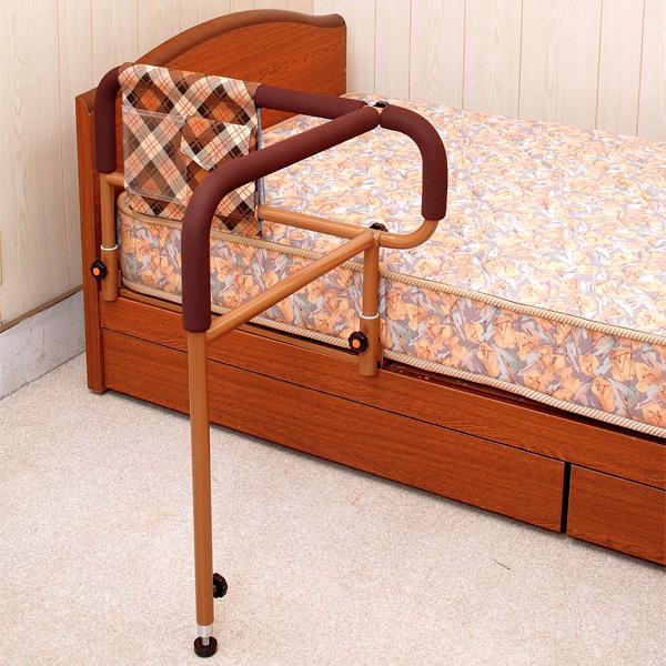 ベッド用てすり「ささえ」 ニュータイプ 吉野商会介護用品手すり 介護用品 立ち上がり 補助 立ち上がり手すり 手摺り あす楽