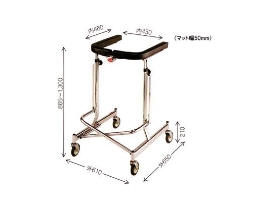 歩行器 介護 アルコーDX(デラックス)折りたたみ式歩行器 星光医療器製作所 【介護用品】【smtb-kd】