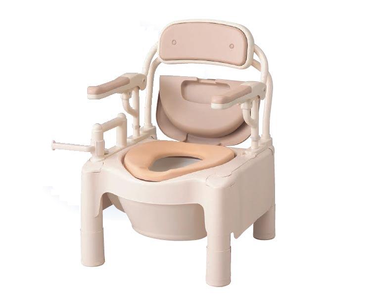 ポータブルトイレ FX-CPはねあげ 快適脱臭(ソフト便座) 534-530 安寿 【送料無料】【smtb-kd】【介護用品】