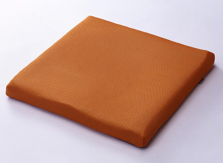 ピタ・シートクッション70 (70mm厚、2枚重ね) オレンジ(PT003C) 日本ジェル 【車椅子 クッション】【車椅子関連用品】【smtb-kd】【介護用品】