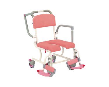 シャワーキャリー SW-11 (4輪フリーキャスター) 松永製作所入浴用車椅子 車いす 入浴補助 介護用品