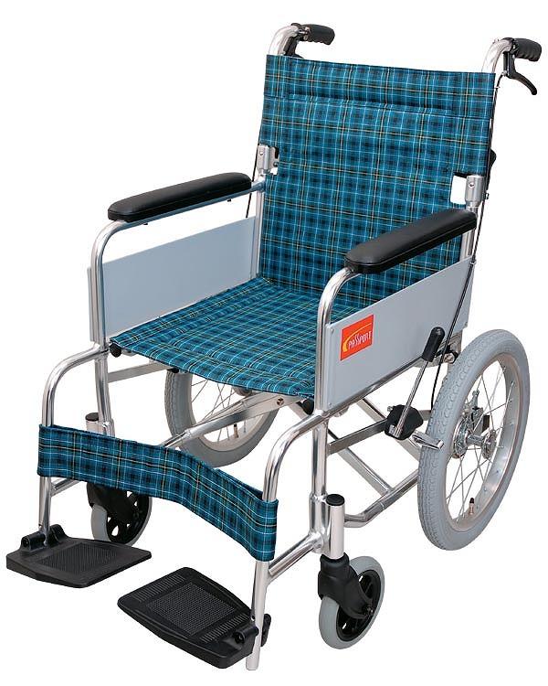 介助用車いす パスポート 0102-LB6205(介助ブレーキ付) インターリンクス 【smtb-kd】【介護用品】【介助式車椅子】