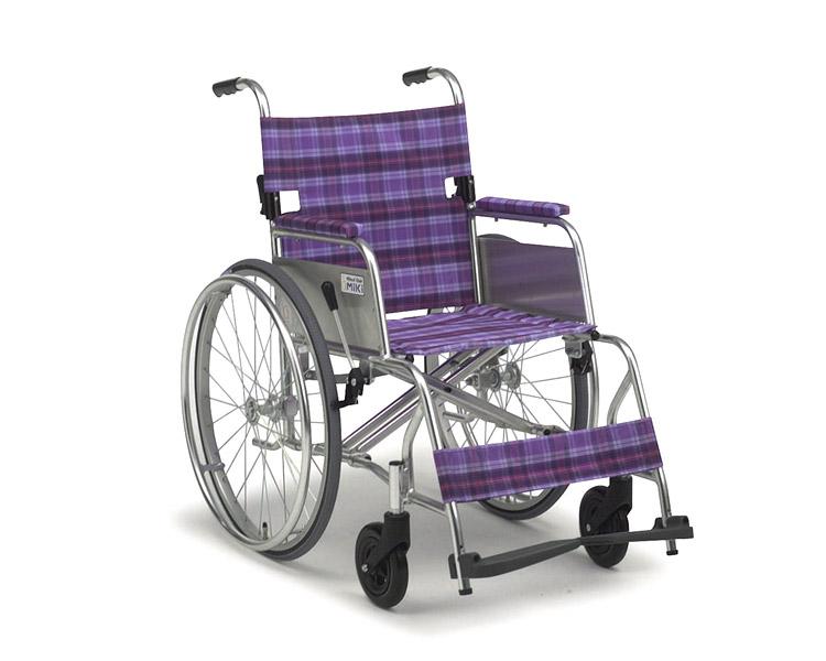 アルミ自走式車椅子 M-43SK ニューライト超・超軽量 ミキ 【smtb-kd】【介護用品】