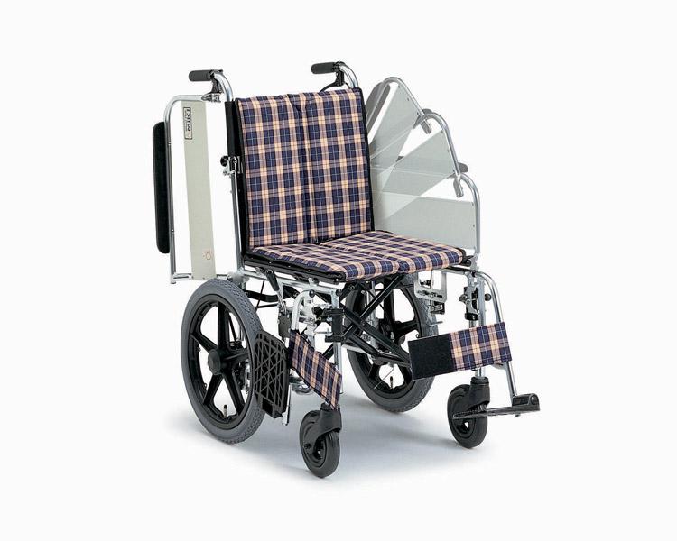 アルミ介助式車椅子 MWSC-16 ニューウイング ミキ 【smtb-kd】【介護用品】