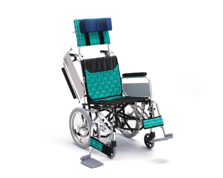 アルミ介助式車椅子 MWCSW-46 Ti ティルト・ウイング ミキ 【smtb-kd】【介護用品】