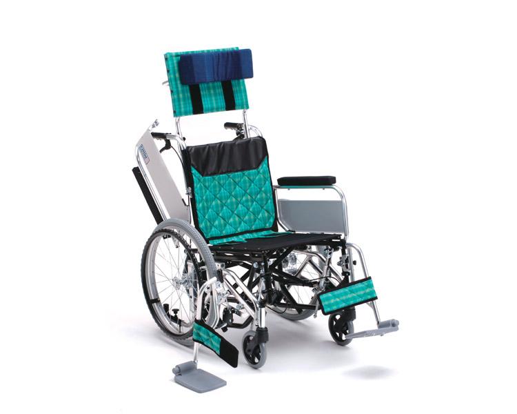 アルミ自走式車椅子 MWSW-46L Ti ティルト・ウイング ミキ 【smtb-kd】【介護用品】